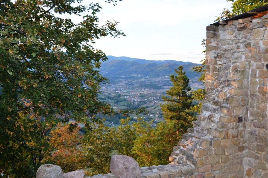 Djurdjevi Stupovi-klooster in Servië