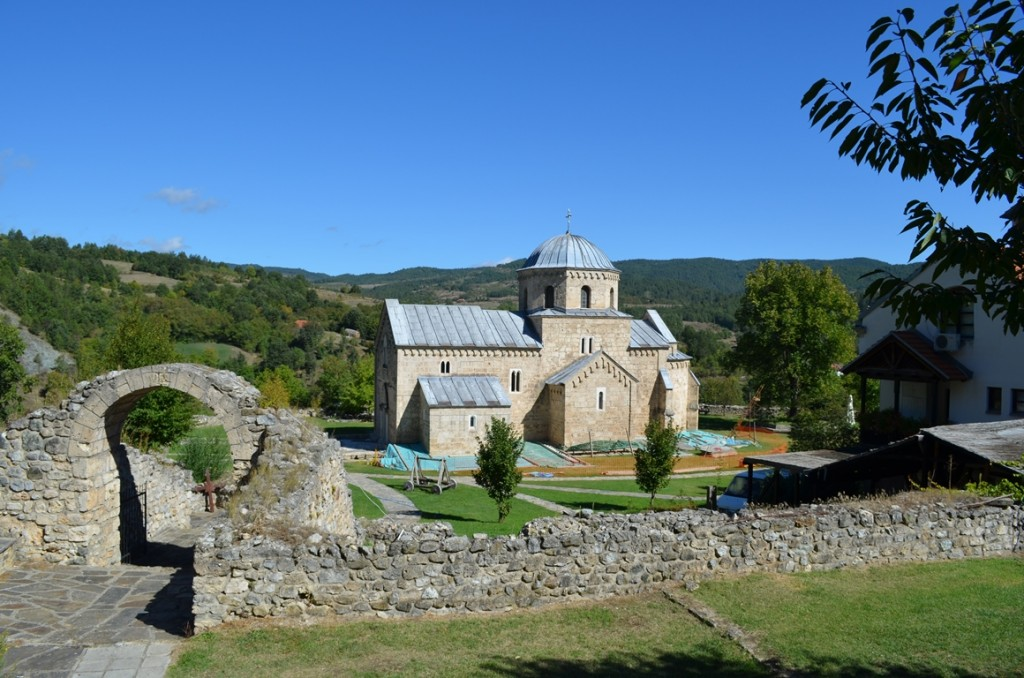 Gradac-klooster in Servië