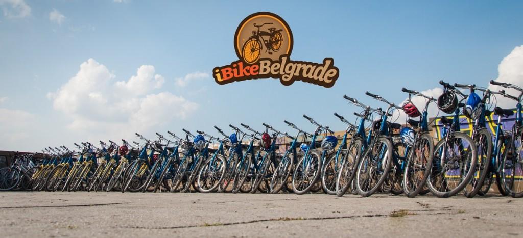 De fietsen van iBikeBelgrade