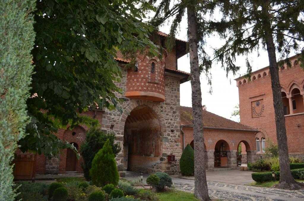 Zica-klooster in Servië